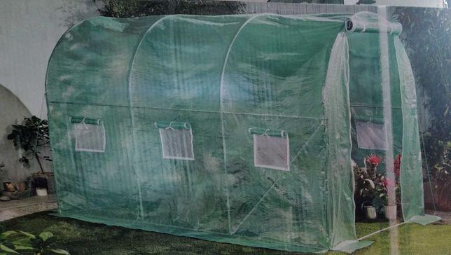 TUNEL foliowy ogrodowy  SZKLARNIA - GARDENIC 2x3 6m2 NOWY