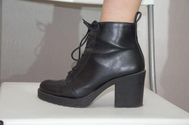 Черные ботинки h&m