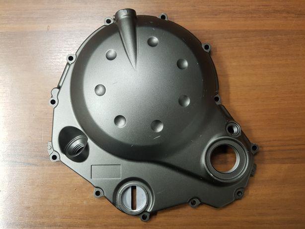 Kawasaki ER6 ER-6 dekiel pokrywa sprzęgła jak nowa czarna ciemna