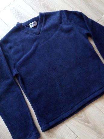 Bluza polarowa granatowa damska r.38