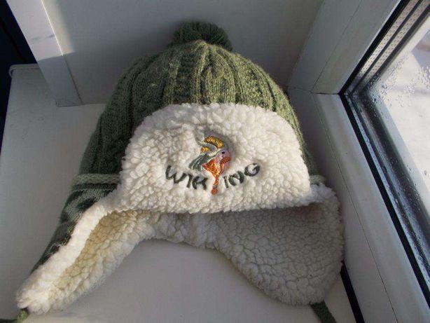 Зимняя тёплая польская шапка Amal