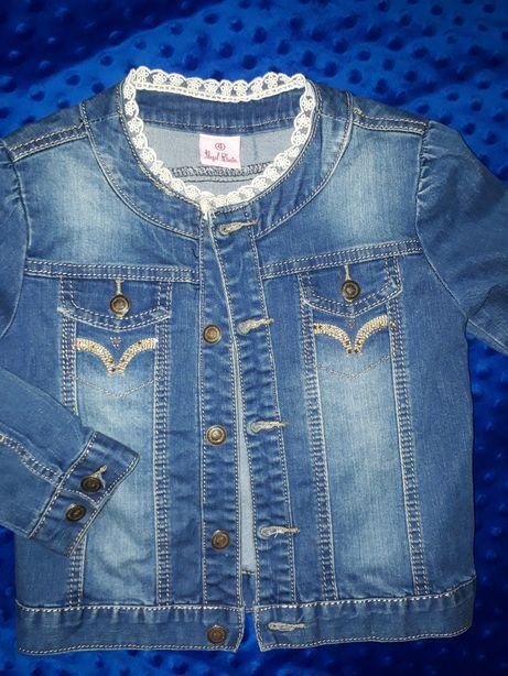 Джынсовая курточка на 3-5 лет