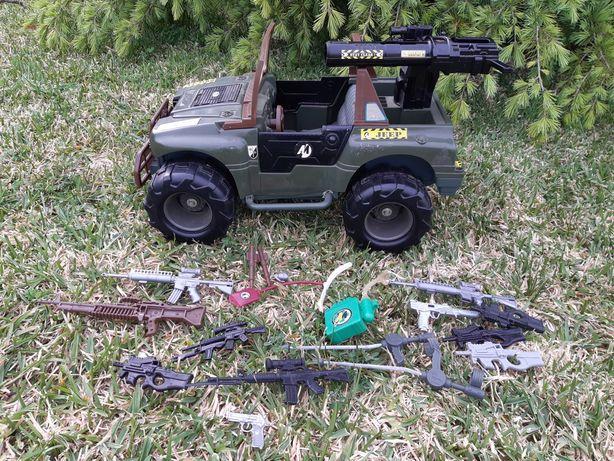 Brinquedo da Hasbro de 1993 Jeep Action Men GI JOE