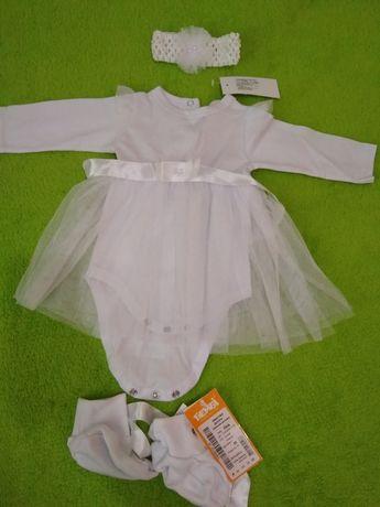 Новое Боди/ Платье-боди для малышки/ платье нарядное/ бодик