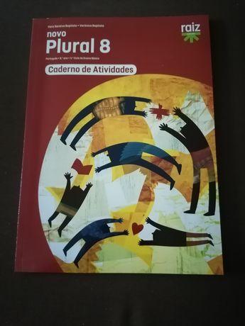 Caderno de atividades de português para 8 ano: Novo Plural 8