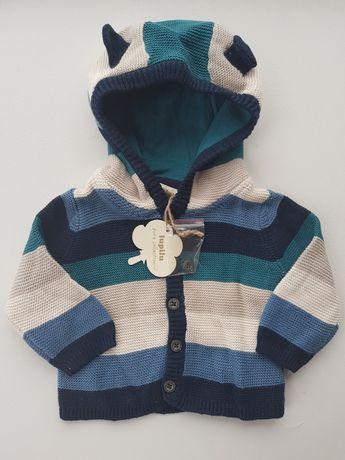 Одежда для новорождённых.Lupilu кофточка, світер