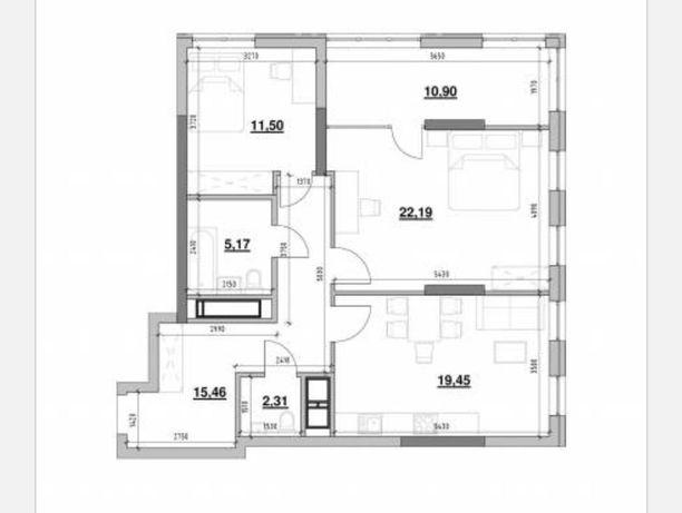 Срочная продажа! 2К квартиры в ЖК Nordiсa Residence! 87 м2
