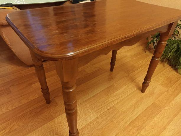 Стол деревянный крепкий 58*100*76 см
