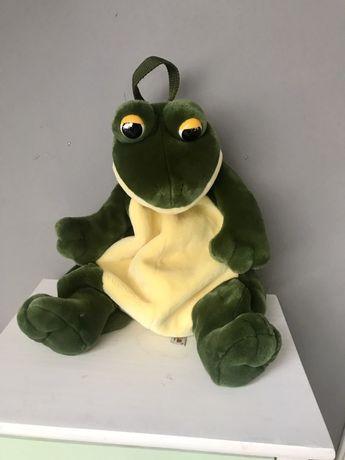 Żaba plecak .