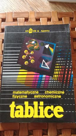 Tablice matematyczne, chemiczne, fizyczne, astronomiczne