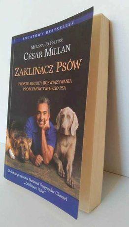 Książka ZAKLINACZ PSÓW Cesar Millan jak NOWA