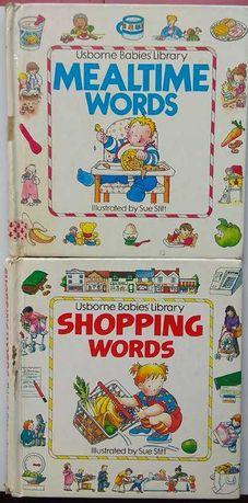 Обучающие книги 2 шт для малышей на английском книжечка книжка