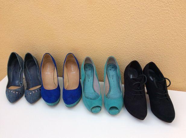 Lote de sapatos de salto em excelente estadoO preço é do lote