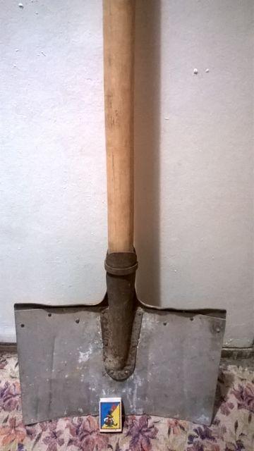 Лопата для снега, крепкая, алюминиевая СССР