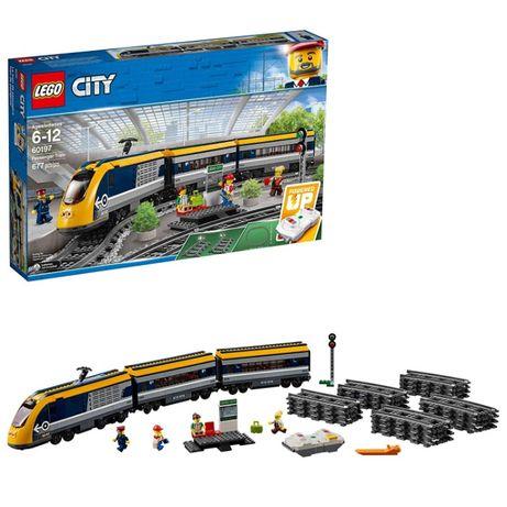 Конструктор LEGO City Пассажирский поезд лего 677 деталей 60197 оригин
