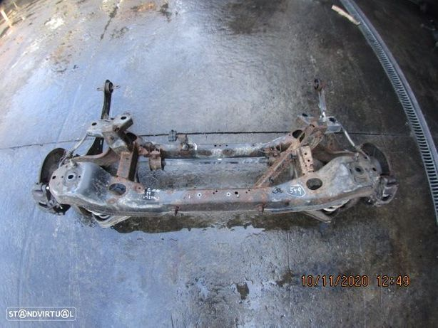 Charriot CHA549 FORD / C MAX / 2004 / 1.6 TDCI / Tras / Discos Completo /