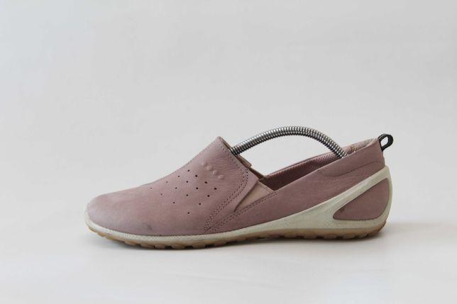 ECCO - skórzane buty r. 37 (24 cm)