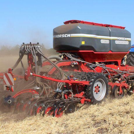 Siew zbóż w technologii strip till na terenie kraju