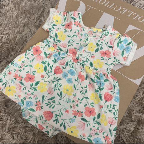 Sukienka w kwiatki Carter's