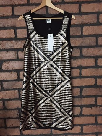 Sukienka Vero Moda Cekiny Nowa Unikat L