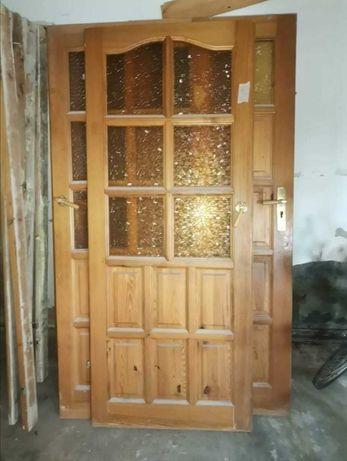 Sprzedam drzwi drewniane wewnętrzne