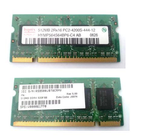 Slot memória RAM 512Mb
