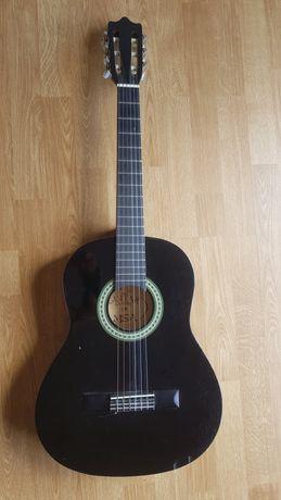 Gitara czarna 3/4