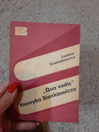 Quo Vadis- Henryk Sienkiewicz Lesław Eustachiewicz