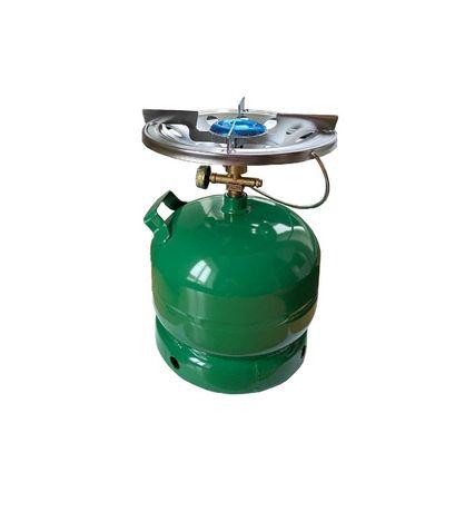 Газовый баллон 5 л с горелкой (2,5 кВт) туристический порта