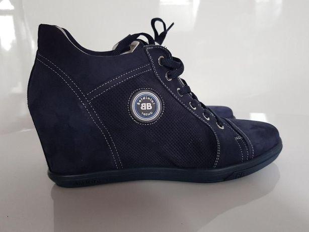 Baldinini włoskie buty skóra naturalna 41 NOWE