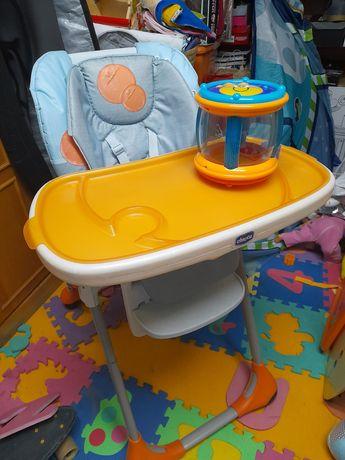 Cadeira da papa Chicco Polly + tambor chicco