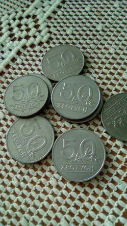 50 zł monety z PRL