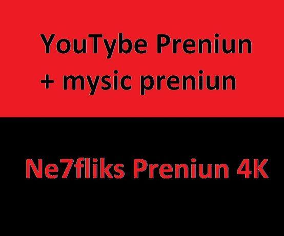 YouTybe Preniun Ne7fliks 4K szczegóły zapraszam priv
