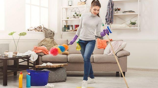 Sprzątanie domu / mieszkania / Również po remontach lub lokatorach
