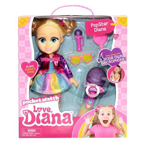 Кукла лялька Diana love kids show поп звезда лол lol