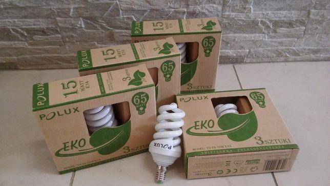 Żarówki energooszczędne Polux trójpak