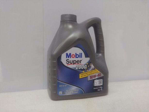 Моторне масло Mobil Super 2000 10w-40 4л