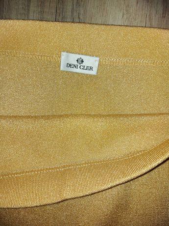 Deni Cler zlota spódnica M