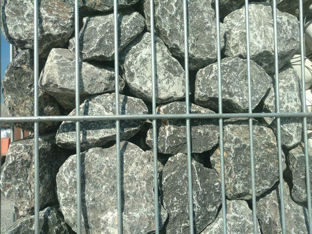 Kamień Alpejski grafitowy do ogrodzeń gabionowych gabionów gabionowy