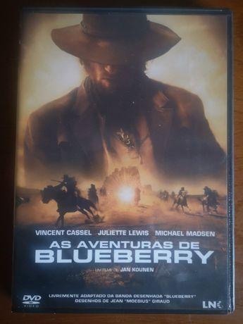 """DVD """"As Aventuras de Blueberry"""""""