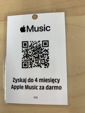 Apple music 4 miesiące