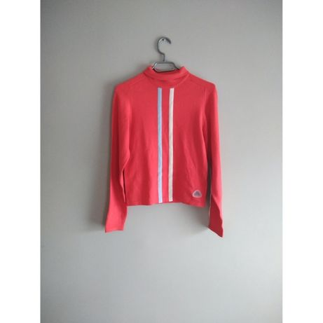 Czerwony sweter golf Nike swetr modny s m