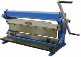 Calandra + Quinadeira + Guilhotina numa máquina só até 610 mm