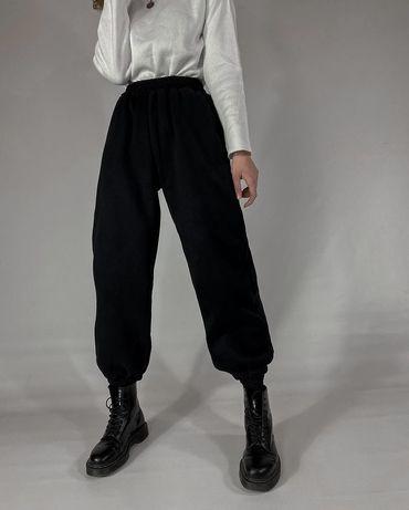 Спортиные штаны джоггеры утепленные