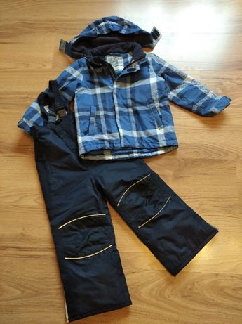 komplet zimowy Tchibo / kombinezon / kurtka + spodnie
