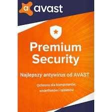 Avast Premium Security i Avast Cleanup 1 Rok