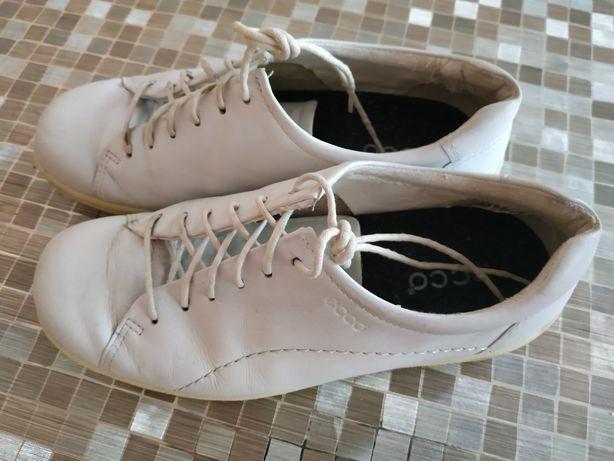 Ecco,кроссовки,туфли,размер 36,23.5 см,ecco,кожа,geox, дешево