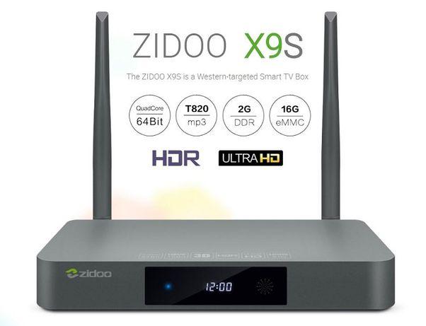 Zidoo Android 7.1 TV Box X9S Медиа-плеер