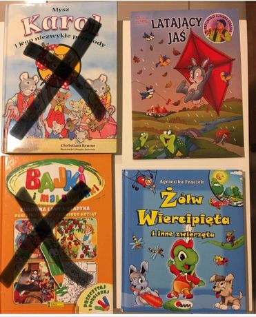 3 książki - Żółw wiercipięta i inne zwierzęta, Latający Jaś