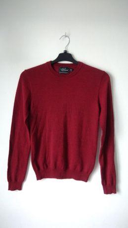 Sweterek bordowy - TOPMAN roz. XS